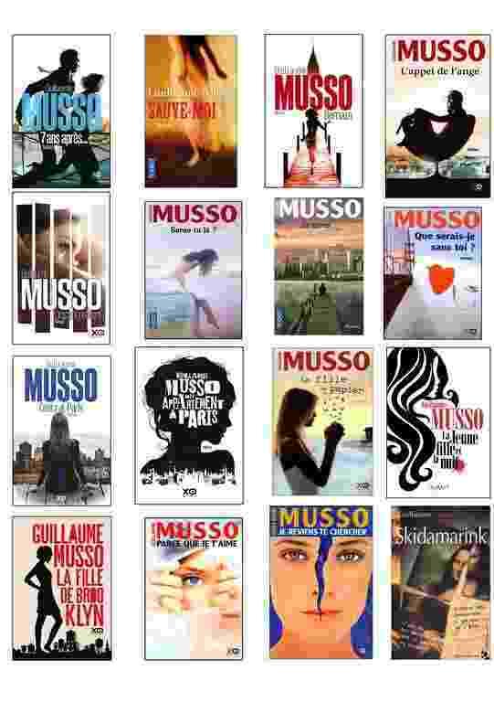 Les Romans De Guillaume Musso Livres Addict